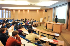 Essec Business School students