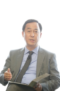 Kelvin Chao during the discussion panel