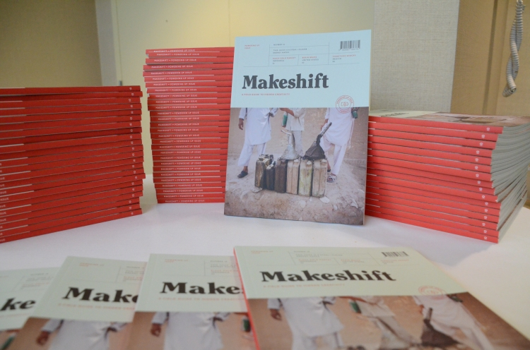 Makeshift magazine at the Council 2015 Forum