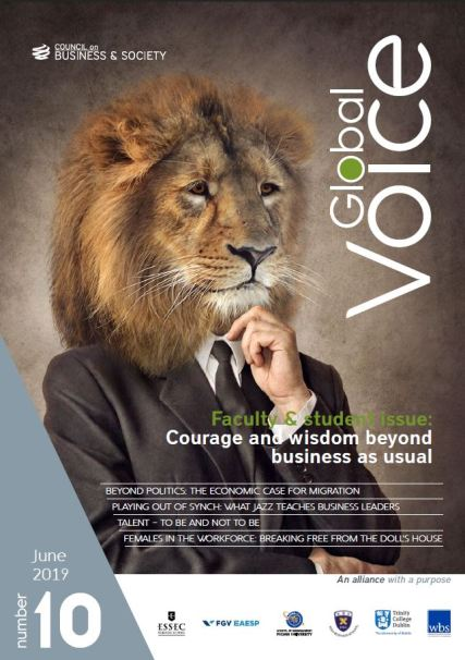 Global Voice magazine from the Council on Business & Society